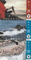 Faroe Islands, OD-025 - 27, Set Of 3 Cards, Faroese Fishing, 2 Scans. - Féroé (Iles)