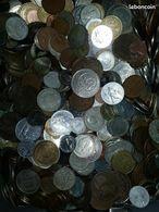 Lot Pièces De Monnaies Du Monde Au Kilo, Coins Collection Mixed Kiloware World, - Coins & Banknotes