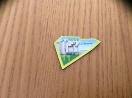 """Magnet Serie Le Gaulois Département Français """"11 AUDE"""" (Château, Remparts Carcassonne) - Magnets"""
