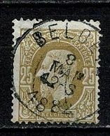 Belg. 32 Beoeil COBA + 8  (2 Scans) - 1869-1883 Leopold II