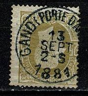 Belg. 32 Gand Porte D'Anvers COBA + 4  (2 Scans) - 1869-1883 Leopold II
