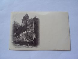 ROCHEFORT-EN-TERRE  Ruines Du Château - Rochefort En Terre