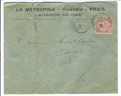 FRANCE 1903:  LSC De Thoiry Pour Gex Pour Gex Avec Le Y&T 125, Et CAD - Francia