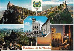 CPA-ITALIE-1965-Republique SAN MARINO- MULTIVUES-TBE - Saint-Marin