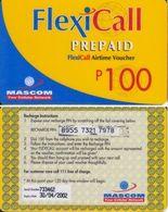 88/ Botswana; Mascom, Old Prepaid GSM Card - Botswana