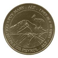 Monnaie De Paris , 2009 , Le Claux , Puy Mary , Col Du Pas De Peyrol , Le Chamois - Monnaie De Paris