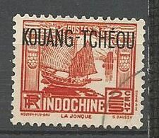 KOUANG-TCHEOU N° 99 OBL - Kouang-Tcheou (1906-1945)