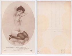 A. Penot - Coquette, Coquetilla, Civettuola, Kikietka, 3602, Femme Nue, Erotique, Art, Illustree, Signee Salon De Paris - Peintures & Tableaux