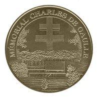 Monnaie De Paris , 2009 , Colombey Les Deux Eglises , Mémorial Charles De Gaulle - Monnaie De Paris