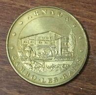 64 CAMBO LES BAINS ARNAGA MÉDAILLE TOURISTIQUE MONNAIE DE PARIS 2010 JETON MEDALS COINS TOKENS - Monnaie De Paris
