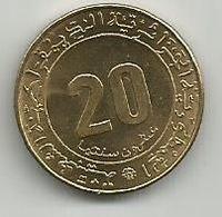Algeria 20 Centimes 1975. KM#107.1 FAO High Grade - Algeria