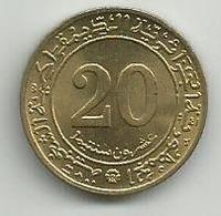 Algeria 20 Centimes 1972. KM#103 FAO - Algeria