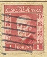 CZECHOSLOVAKIA-MASARYK-USED STAMP - Czechoslovakia