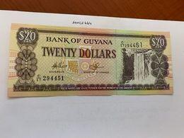 Guyana 20 Dollars Uncirc. Banknote  1982 #2 - Guyana