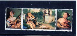 CG - 1970 San Marino -  Dipinto Del Tiepolo - Madonne