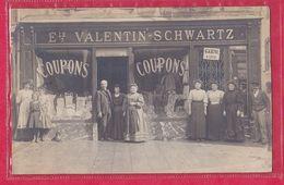 Top Carte-Photo Etabs VALENTIN- SCHWARTZ- Judaïca/ Jewish-localisée à Mirecourt - Mirecourt