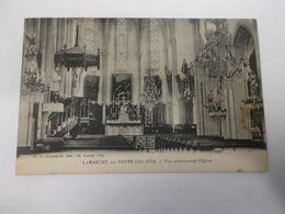 LA MARCHE SUR SAONE Vue Interieure De L'Eglise - Francia