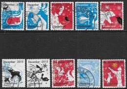 NVPHG 3363-3372 -  2015 - Decemberzegels - Periodo 2013-... (Willem-Alexander)