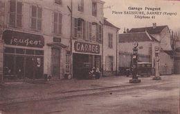 Devanture Du Garage PEUGEOT(Pierre SAUSSURE à Darney) - A Saisir!! - Darney