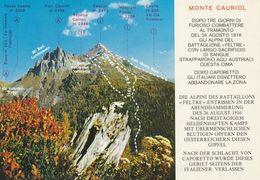 Trentino - Trento -Ziano Di Fiemme Catena Alpi Lagorai - Rifugio Monte Cauriol - - Trento