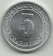 Algeria 5 Centimes 1974. KM#106 FAO - Algeria