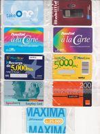 110/ Europe; 10 Old Prepaid GSM Cards - SAMPLES - Télécartes