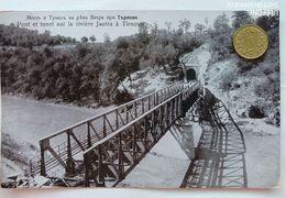 Tunnel U. Brücke über Den Fluss Jantra Bei Tirnovo (Tarnovow), Bulgarien, 1910 - Bulgarien