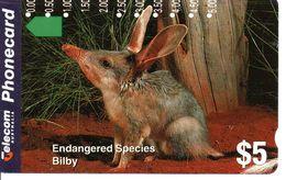 Animal Bilby Télécarte Australie Phonecard Telefonkarte (G 261) - Giungla
