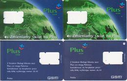 113/ Poland; Polkomtel, 2 Old GSM Cards - Pologne