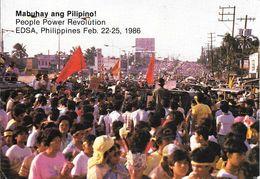 CPA-1986-PHILIPPINES-PEOPLE  POWER REVOLUTON-EDSA-Feb 22-25 1986-TBE - Philippines