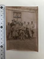 Foto 11x7,5cm Grand Guerre Soldats Francais In Uniform Blessee - Oorlog, Militair
