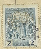 CZECHOSLOVAKIA-1000 ANNIVERSARY OF DUKE WENZEL,PERF.-USED STAMP - Czechoslovakia