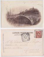 Firenze E Dintorni - Ponte S. Felice A Ema, Viaggiata 1901 - Firenze (Florence)