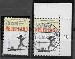 Nederland - 1989 - Yvert 1339  Michel 1369 - **  En  O  - Koninklijke Nederlansche Voetbalbond - - Periodo 1980 - ... (Beatrix)