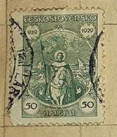 CZECHOSLOVAKIA-1000 ANNIVERSARY OF DUKE WENZEL-USED STAMP - Czechoslovakia