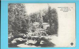 87-----HAUTE-VIENNE--Les Bords De La Glane Au Moulin Du CHATELARD---voir 2 Scans - Otros Municipios