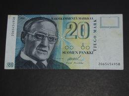 20 Sata Markkaa - Suomen Pankki - FINLANDE 1993  **** EN ACHAT IMMEDIAT **** - Finland