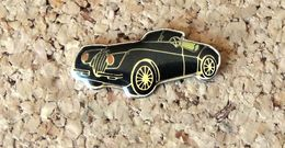 Pin's JAGUAR XK Cariolet Noir - Verni époxy - Fabricant Inconnu - Jaguar