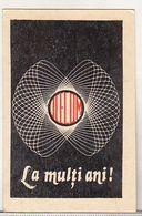 Romania Old 1979 Small Calendar UCECOM - Calendars