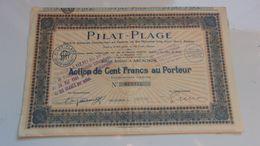 PILAT PLAGE (arcachon , Gironde) - Acciones & Títulos