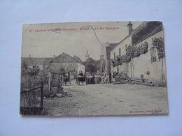 GENAY La Rue Principale, Environs De Semur - Francia