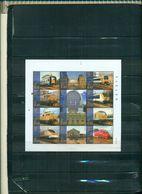 BELGIQUE TIMBRES DES CHEMINS DE FER 2001 LES CHEMINS DE FER MODERNES 11 VAL NEUFS A PARTIR DE 3 EUROS - Railway