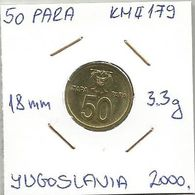 G1 Yugoslavia 50 Para 2000  KM#179 - Joegoslavië