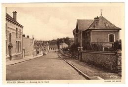 FISMES (51) - Avenue De La Gare -  Ed. CIM - Fismes