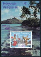POLYNESIE 1983 - Yv. BF 8 ** SUP  Cote= 4,00 EUR - Expo Phil. Bangkok'83  ..Réf.POL25106 - Blocs-feuillets