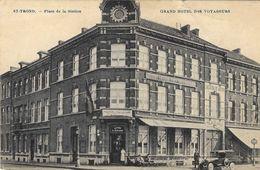 1131)  Sint-Truiden - Grand Hotel Des Voyageurs - Auto - Sint-Truiden