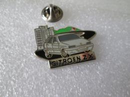 PIN'S    ZX  CITROEN  Zamak  Decat - Citroën
