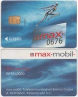 5/ Austria; Max.mobil, Old GSM SIM Card - Autriche