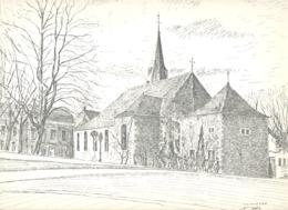 THIMISTER - Lithographie De L'Eglise De Laurent BALHAN (Mi11) - Lithographies