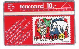 Schweiz - PTT - P21 - Taxcard - 10 CHF - 210D - Stamp - Briefmarke - Suisse